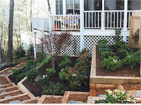 Charlotte Nc Retaining Walls We Do It All Low Cost Erosion Control Concrete Allan Block Brick Stone Timber Free Quote