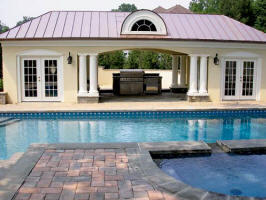 cabana pool house plans view album website simple home plan 3d - Pool House Plans
