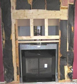 Fireplace Builders Fireplace Stone Brick Remodel Cost